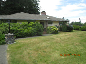 Rural Comox Valley home for rent