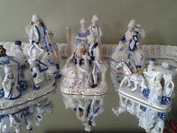 PORCELAIN FIGURS OF OPERA