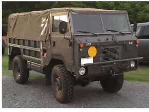 Land Rover 101 Military One Tonne Forward Control - REDUCED