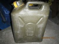 Plastic Jerry Can's