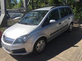Vauxhall/Opel Zafira 1.6i 16v 2005.75MY Life px bargain