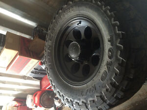 REDUCED Toyo Open County MT on iON alloy rims