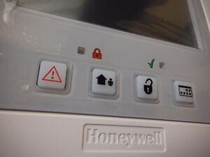 Honeywell Lynx 5100 wireless security system w/sensor & rmt $225
