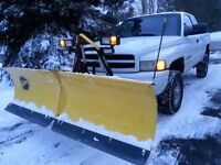 Snow Plowing in KV Area