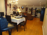 3+1 nice 4 bed room available oct1st etobicoke neer airport