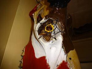 Masques uniques en os fait a la main West Island Greater Montréal image 2