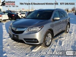 2016 Acura MDX   - $390.10 B/W - Low Mileage