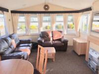 Static caravan north wales with decking and site fees
