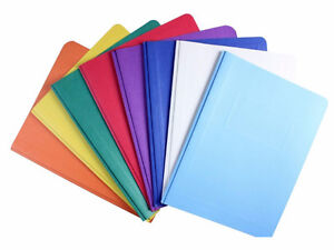 Brand new lot of 10 assorted duo tang folders London Ontario image 1