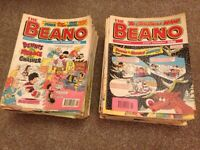 1990s Beano comics job lot x 175