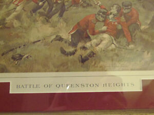 Collectible War of 1812 Historical Battle Prints Kelly & Curzon London Ontario image 3