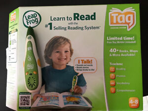 Tag reader and books