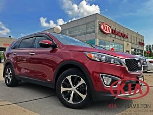 2016 Kia Sorento EX+ AWD | TURBO | LEATHER | HTD Seats/SW