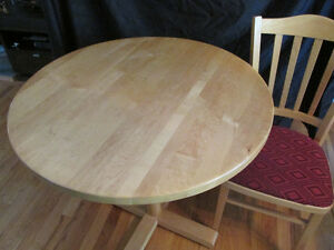 Table ronde petite- Small round table