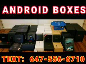 2018  Android Box Fully Loaded (. Plug and Play ) iptv kodi