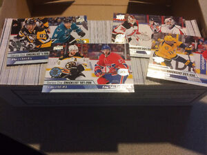 2016-17 Upper Deck Series 1 and 2 Complete Base sets