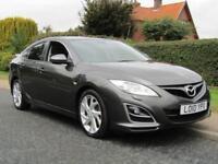 2010 Mazda 6 2.2d 180 BHP 2.2D SPORT 5DR TURBO DIESEL HATCHBACK ** HALF LEATH...