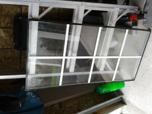 4 New 4 Glass Panels