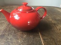 Le Creuset Red tea pot
