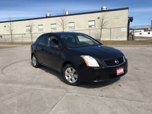 2008 Nissan Sentra, Only 112000 km, 4door, Gas saver, 6 Sped,