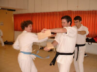 Karate Training , Krav-Hagana and Kick Boxing