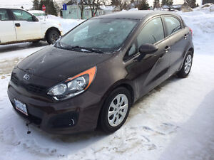 2013 Kia Rio LX Plus Hatchback, one owner only 10,800 kms