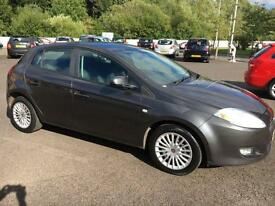 5808 Fiat Bravo 1.4 Active Grey 5 Door 46996mls MOT 12m