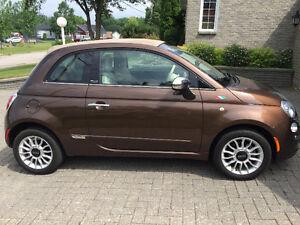 Fiat 500c Cuir Cabriolet