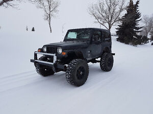 2004 Jeep TJ 350 v8 Pickup Truck