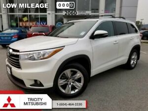 2015 Toyota Highlander LIMITED  NAVIGATION-SUNROOF-4X4