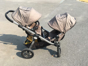 Baby jogger city select double stroller and car seat adaptor