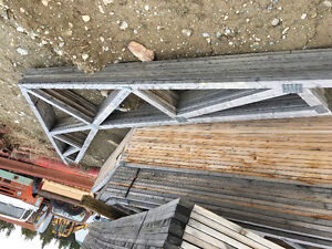 """17' 6"""" vaulted trusses (6)"""
