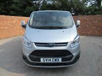 FORD TRANSIT CUSTOM 290 L1 H1 LIMITED SWB 155 BHP AIR CON CRUISE CONTROL 3 SEATS