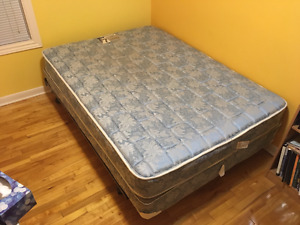 Twin Bed, Boxspring and Frame $150 OBO