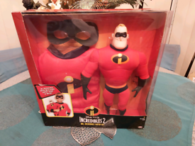 Childs Mr Incredible figure & Costume
