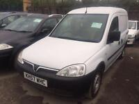 2007 Vauxhall Combo 1700 1.3CDTi 16V Van [75PS] 5 door Van