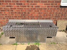 Land Rover 90/110 Chequerplate Security/Storage Box