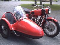 TRIUMPH BONNEVILLE with SIDECAR