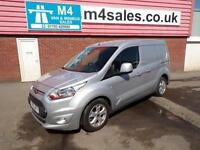 Ford Transit Connect 200 Limited P/V Panel Van 1.6 Manual Diesel