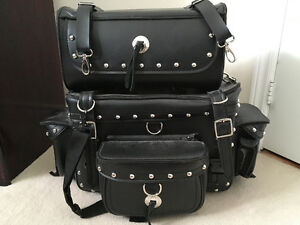 Leather Motorcycle Bags
