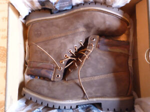 """BRAND NEW Men's Timberland 6"""" Chocolate Brown Camo Boots Size 11"""
