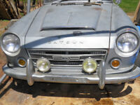 1967 Datsun 2000 + Boxed Parts from Nissan, $30US + Parts