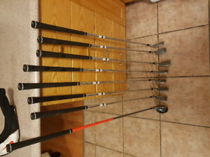 Nike slingshots 6.0 right handed. 5 iron to SW and Hybrid