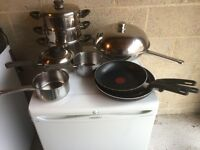 Various Pots and Pans