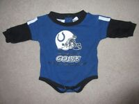 Indianapolis Colts diaper shirt