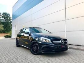2015 15 reg Mercedes-Benz A45 2.0 AMG Black + PANORAMIC ROOF + AERO BODY KIT