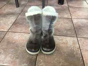 Authentic seal boots