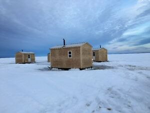 ice fishing cabins rentals lesser slave lake alberta ForIce Fishing Cabins Alberta