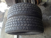 2 PNEUS / 2 ALL SEASON TIRES 215/60/15 GOODYEAR EAGLE