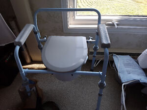 Drive Medical Steel Commode